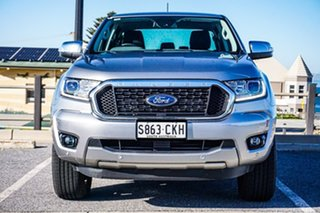 2021 Ford Ranger PX MkIII 2021.25MY XLT Silver 6 Speed Sports Automatic Super Cab Pick Up