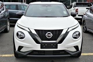 2021 Nissan Juke F16 Ti DCT 2WD Snow Storm 7 Speed Sports Automatic Dual Clutch Hatchback.
