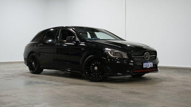 Used Mercedes-Benz CLA-Class X117 806MY CLA250 Shooting Brake DCT 4MATIC Sport Welshpool, 2016 Mercedes-Benz CLA-Class X117 806MY CLA250 Shooting Brake DCT 4MATIC Sport Black 7 Speed