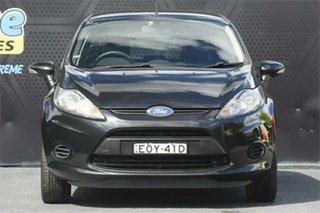 2011 Ford Fiesta WT LX PwrShift Black 6 Speed Sports Automatic Dual Clutch Hatchback.