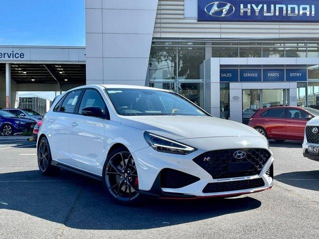 New Hyundai i30 Pde.v4 MY22 N Premium South Melbourne, 2021 Hyundai i30 Pde.v4 MY22 N Premium Polar White 6 Speed Manual Hatchback