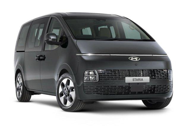 New Hyundai Staria US4.V1 MY22 Highlander 2WD Nailsworth, 2021 Hyundai Staria US4.V1 MY22 Highlander 2WD Graphite Gray 8 Speed Sports Automatic Wagon