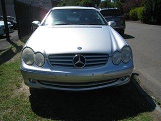 2004 Mercedes-Benz CLK320 C209 Elegance Silver 5 Speed Auto Touchshift Coupe.