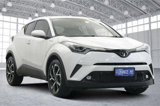 2018 Toyota C-HR NGX50R Koba S-CVT AWD White 7 Speed Constant Variable Wagon.