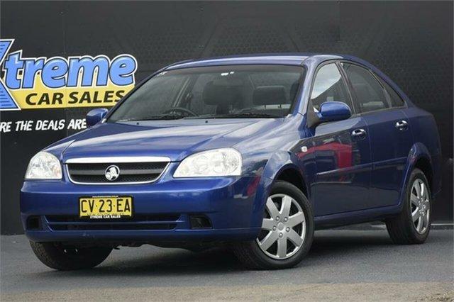 Used Holden Viva JF MY08 Campbelltown, 2007 Holden Viva JF MY08 Blue 4 Speed Automatic Sedan