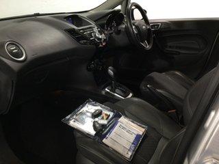 2015 Ford Fiesta WZ MY15 Sport PwrShift Silver 6 Speed Sports Automatic Dual Clutch Hatchback