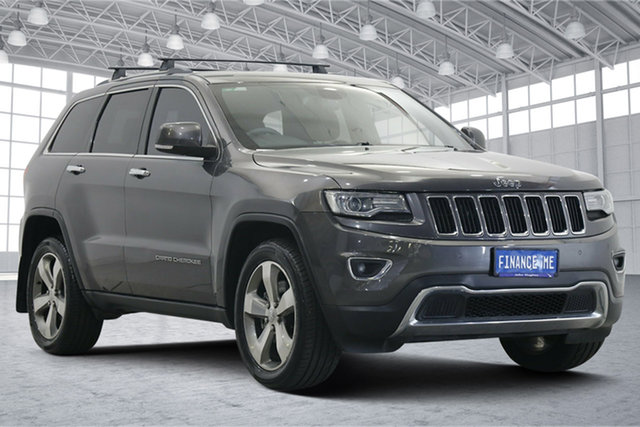 Used Jeep Grand Cherokee WK MY2014 Limited Victoria Park, 2014 Jeep Grand Cherokee WK MY2014 Limited Grey 8 Speed Sports Automatic Wagon
