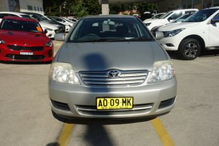 2006 Toyota Corolla ZZE122R 5Y Ascent Silver 4 Speed Automatic Wagon.