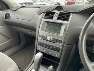 2008 Ford Fairmont BF Mk II Silver 4 Speed Sports Automatic Sedan