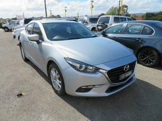 2017 Mazda 3 BN MY17 Maxx Silver 6 Speed Automatic Sedan.