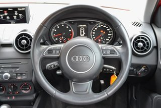 2014 Audi A1 8X MY14 Attraction Sportback S Tronic Red 7 Speed Sports Automatic Dual Clutch