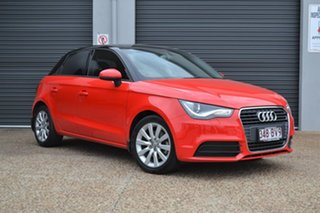 2014 Audi A1 8X MY14 Attraction Sportback S Tronic Red 7 Speed Sports Automatic Dual Clutch.