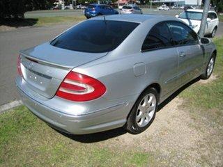 2004 Mercedes-Benz CLK320 C209 Elegance Silver 5 Speed Auto Touchshift Coupe