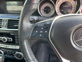 2015 Mercedes-Benz C-Class C204 C180 7G-Tronic + Avantgarde Silver 7 Speed Sports Automatic Coupe