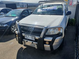 2006 Toyota Hilux GGN15R MY05 SR 4x2 White 5 Speed Manual Utility