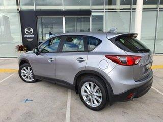 2014 Mazda CX-5 KE1021 MY14 Grand Touring SKYACTIV-Drive AWD Silver 6 Speed Sports Automatic Wagon.