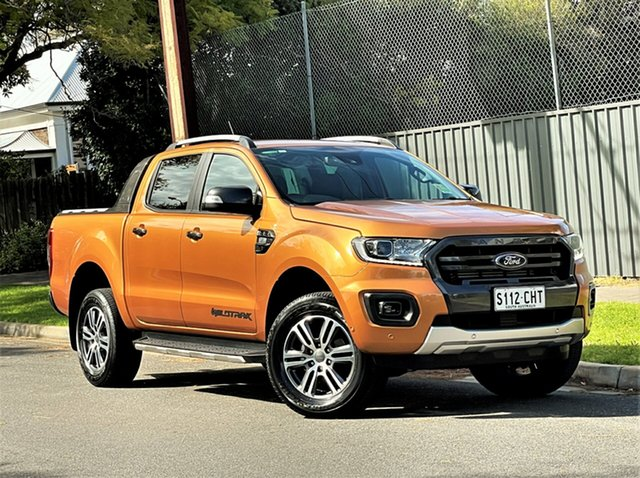 Used Ford Ranger PX MkIII 2020.75MY Wildtrak Hyde Park, 2020 Ford Ranger PX MkIII 2020.75MY Wildtrak Saber 6 Speed Sports Automatic Double Cab Pick Up