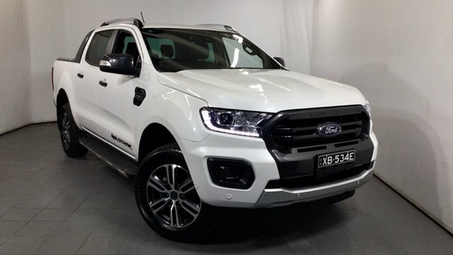 Used Ford Ranger PX MkIII 2020.25MY Wildtrak Elizabeth, 2020 Ford Ranger PX MkIII 2020.25MY Wildtrak White 10 Speed Sports Automatic Double Cab Pick Up