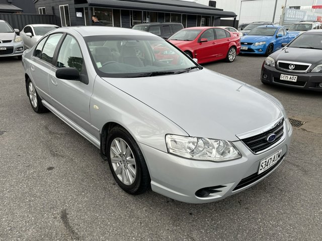 Used Ford Fairmont BF Mk II Gepps Cross, 2008 Ford Fairmont BF Mk II Silver 4 Speed Sports Automatic Sedan