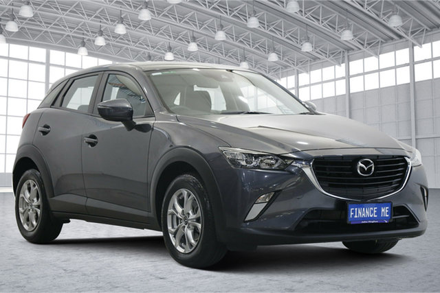 Used Mazda CX-3 DK2W7A Maxx SKYACTIV-Drive Victoria Park, 2017 Mazda CX-3 DK2W7A Maxx SKYACTIV-Drive Grey 6 Speed Sports Automatic Wagon