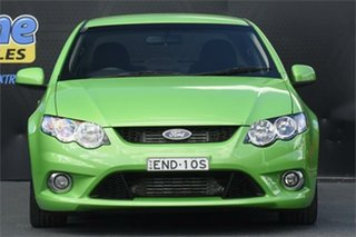 2009 Ford Falcon FG XR6 Turbo Green 6 Speed Sports Automatic Sedan.