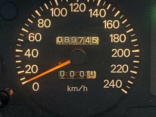 1999 Mitsubishi Magna TH Executive White 4 Speed Automatic Sedan
