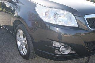 2011 Holden Barina TM Black 5 Speed Manual Hatchback.