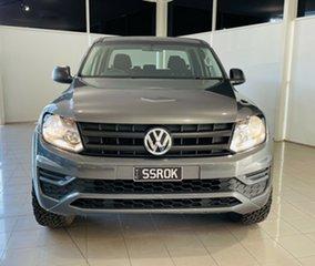 2018 Volkswagen Amarok 2H MY19 TDI420 4MOTION Perm Core Grey 8 Speed Automatic Utility.