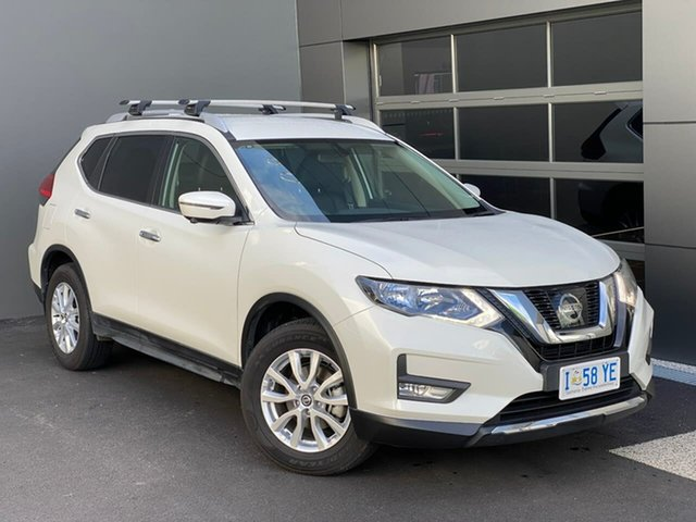 Used Nissan X-Trail T32 Series II ST-L X-tronic 2WD Hobart, 2020 Nissan X-Trail T32 Series II ST-L X-tronic 2WD White 7 Speed Constant Variable Wagon