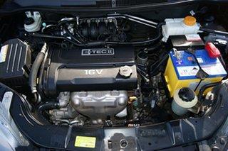2011 Holden Barina TM Black 5 Speed Manual Hatchback