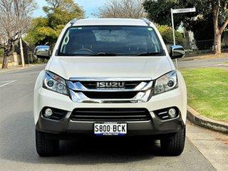 2014 Isuzu MU-X MY14 LS-T Rev-Tronic White 5 Speed Sports Automatic Wagon.