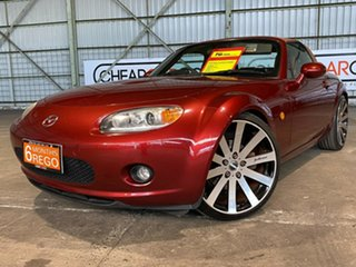 2005 Mazda MX-5 NC30F1 Red 6 Speed Sports Automatic Softtop.