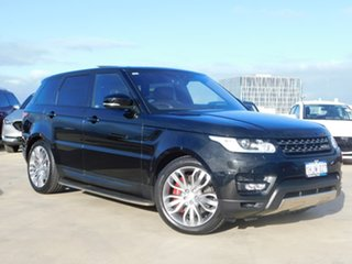 2017 Land Rover Range Rover Sport L494 17MY HSE Dynamic Black 8 Speed Sports Automatic Wagon.