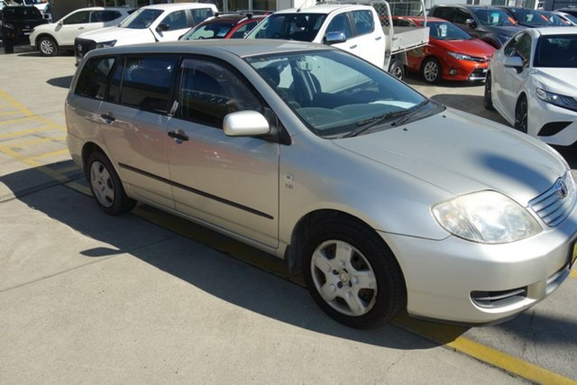 Used Toyota Corolla ZZE122R 5Y Ascent East Maitland, 2006 Toyota Corolla ZZE122R 5Y Ascent Silver 4 Speed Automatic Wagon