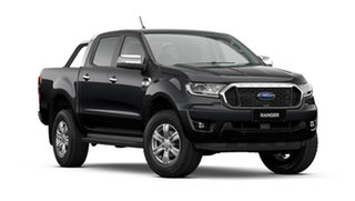 2021 Ford Ranger PX MkIII 2021.75MY XLT Shadow Black 10 Speed Sports Automatic Double Cab Pick Up.