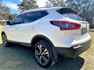 2018 Nissan Qashqai J11 Series 2 ST-L X-tronic White 1 Speed Constant Variable Wagon