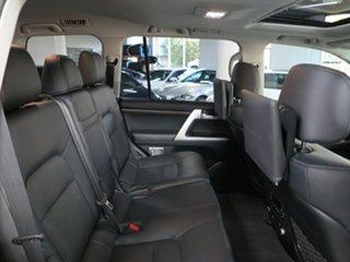 2019 Toyota Landcruiser VDJ200R Sahara White 6 Speed Sports Automatic Wagon