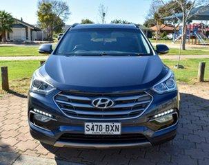 2016 Hyundai Santa Fe DM3 MY17 Elite Blue 6 Speed Sports Automatic Wagon