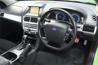 2009 Ford Falcon FG XR6 Turbo Green 6 Speed Sports Automatic Sedan