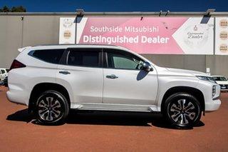 2019 Mitsubishi Pajero Sport QF MY20 GLS White 8 Speed Sports Automatic Wagon.