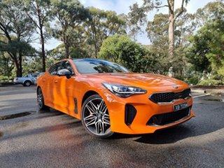 2021 Kia Stinger CK MY21 GT Fastback Neon Orange 8 Speed Sports Automatic Sedan.