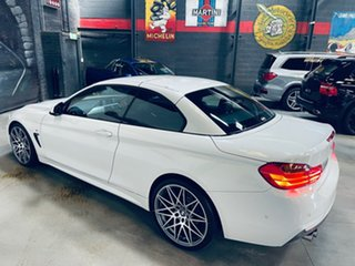 2017 BMW 4 Series F33 430i M Sport White 8 Speed Sports Automatic Convertible