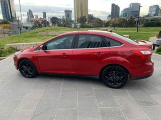 2011 Ford Focus LW Titanium PwrShift Red 6 Speed Sports Automatic Dual Clutch Sedan