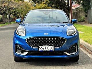 2020 Ford Puma JK 2020.75MY ST-Line V Blue 7 Speed Sports Automatic Dual Clutch Wagon.