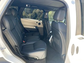 2014 Land Rover Range Rover Sport L494 MY15 SDV8 HSE Dynamic White 8 Speed Sports Automatic Wagon