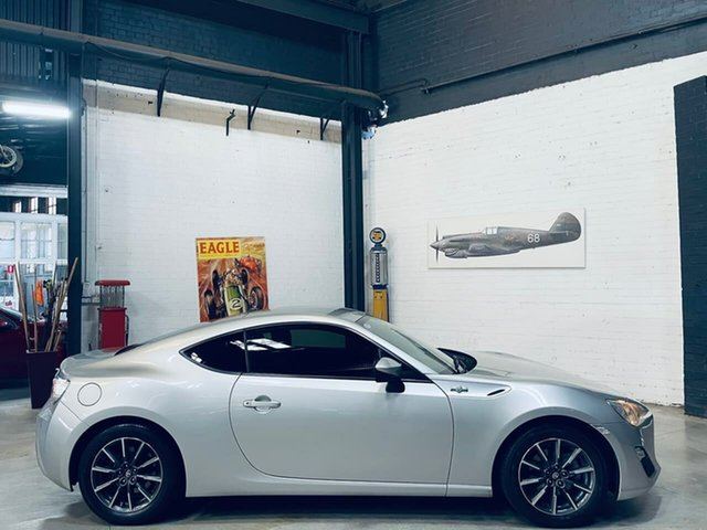 Used Toyota 86 ZN6 GT Port Melbourne, 2012 Toyota 86 ZN6 GT Silver 6 Speed Manual Coupe