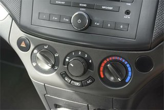 2008 Holden Barina TK MY08 Black 4 Speed Automatic Hatchback