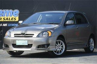 2003 Toyota Corolla ZZE123R Sportivo Silver 6 Speed Manual Hatchback.