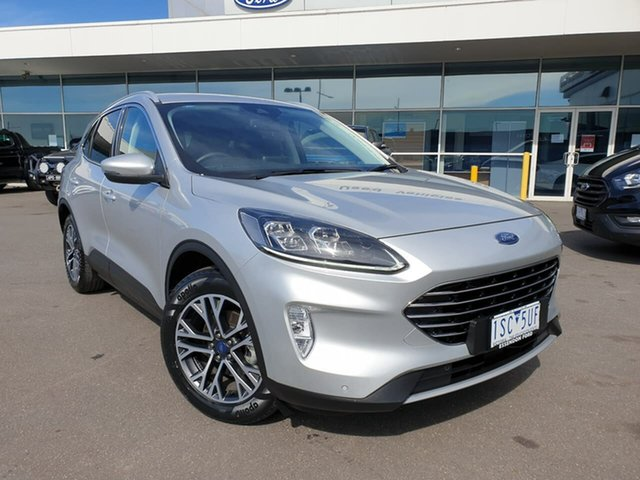 Used Ford Escape ZH 2020.75MY Essendon Fields, 2020 Ford Escape ZH 2020.75MY Silver 8 Speed Sports Automatic SUV