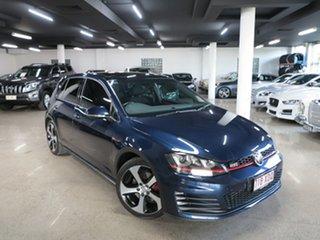 2017 Volkswagen Golf 7.5 MY17 GTI DSG Blue 6 Speed Sports Automatic Dual Clutch Hatchback.